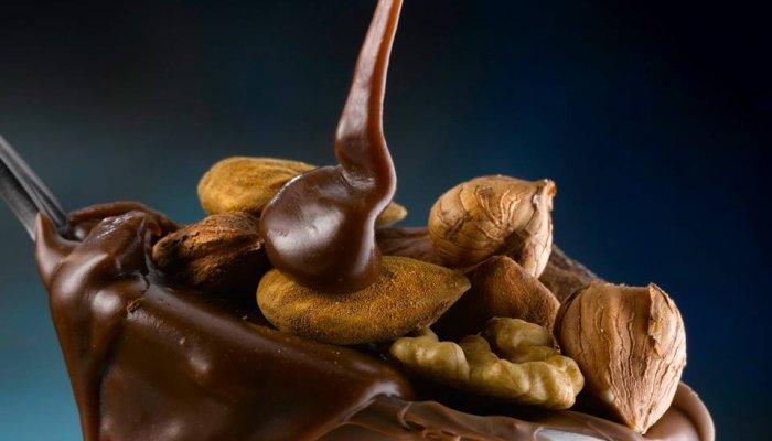 קינוח שוקולד שקדים