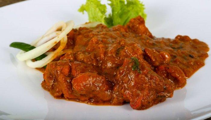 בשר ובטטות ברוטב הודי
