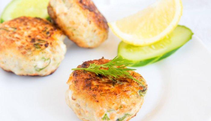 קציצות דגים אפויות בתנור