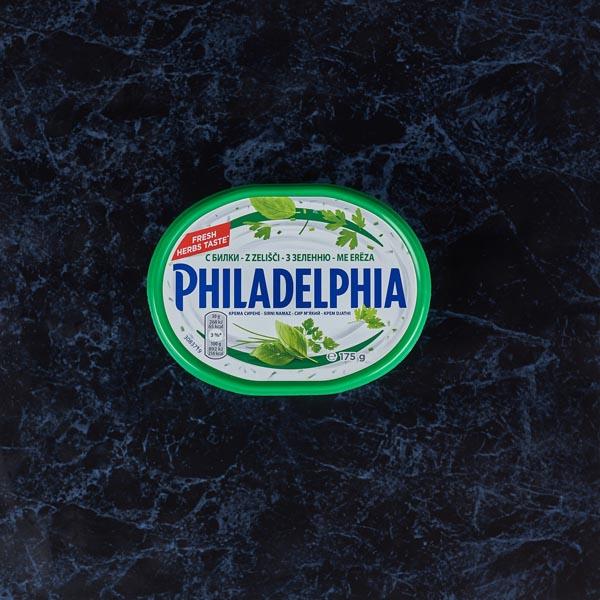 גבינת םילדלפיה עשבי תיבול