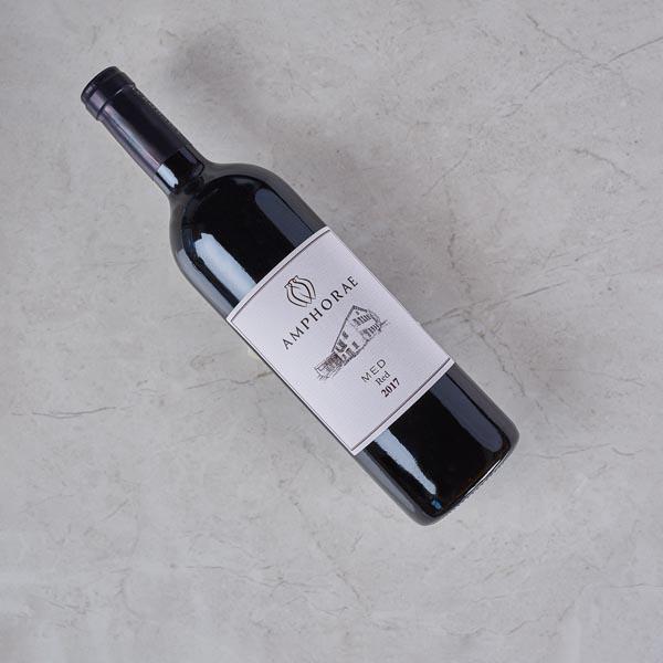 יין אדום אמפורה